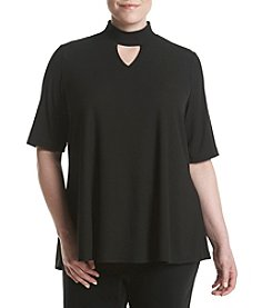 Relativity® Plus Size Gigi Knit Top
