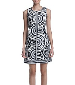 Taylor Dresses Geometric Shift Dress