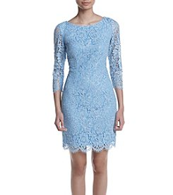 Adrianna Papell® Metallic Lace Dress
