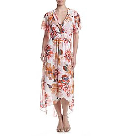 Relativity® Floral Burst Maxi Dress
