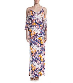 Relativity® Layered Top Maxi Dress