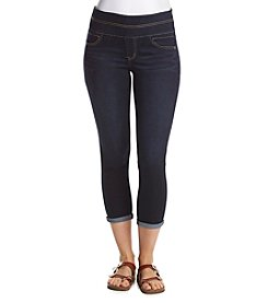 Relativity® Pull On Cuffed Skinny Ankle Jeans