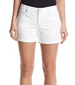 Relativity® Twill Rollcuff Shorts