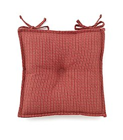 LivingQuarters Basketweave Chair Pad