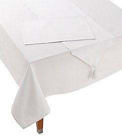 LivingQuarters Solid Table Linen Collection