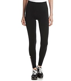 One 5 One® Laser Cut Ankle Leggings