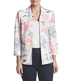Alfred Dunner® Petites' Hydrangea Jacket