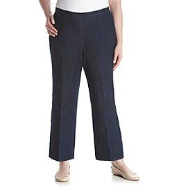Alfred Dunner® Plus Size Scenic Route Pull On Pants