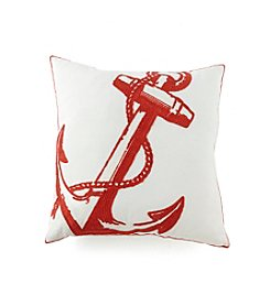 LivingQuarters Lake Anchor Pillow