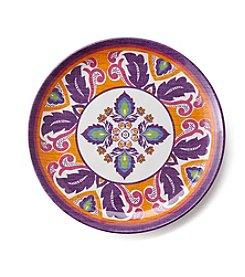 LivingQuarters Old Havana  Medallion Appetizer Plate