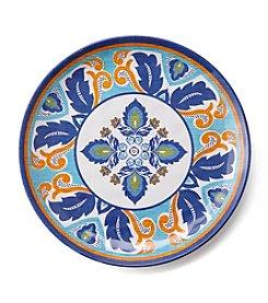LivingQuarters Old Havana Medallion Salad Plate