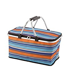LivingQuarters Old Havana Striped Tote