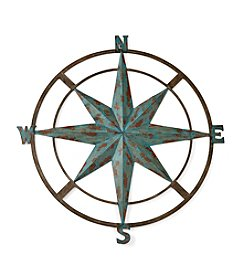 LivingQuarters Lake Iron Wall Compass