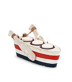 LivingQuarters® Lake Boat Tealight Holder