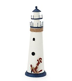 LivingQuarters Lake Lighthouse Decor