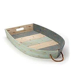 LivingQuarters Lake Wood Boat Tray