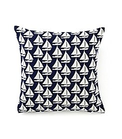 LivingQuarters Lake Sailboat Cushion