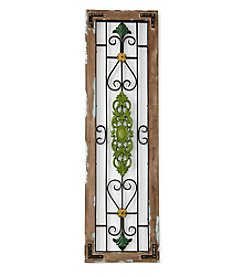 LivingQuarters Old Havana Aqua Door Frame Decor
