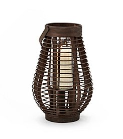 LivingQuarters Old Havana Bamboo Lantern
