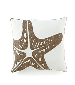 LivingQuarters Lake Starfish Pillow