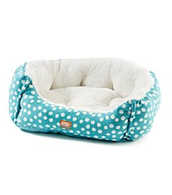 Animal Planet® Micro Suede Dot Pet Bed