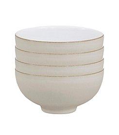 Denby® Set of 4 Natural Canvas Rice Bowls