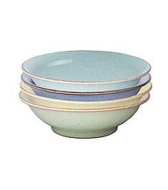 Denby® Set of 4 Heritage Shallow Bowls