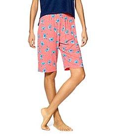 HUE® Crab House Bermuda Shorts