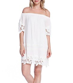 Skylar & Jade™ Crochet Off-Shoulder Dress