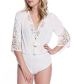 Skylar & Jade™ Floral Lace Bodysuit