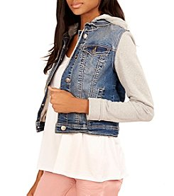 Wallflower® Layered Look Denim Jacket