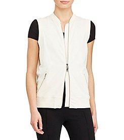 Lauren Ralph Lauren® Full-Zip Stretch Vest