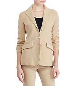 Lauren Ralph Lauren® Three-Button Sweater Jacket