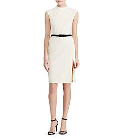 Lauren Ralph Lauren® Mockneck Sheath Dress