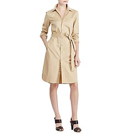 Lauren Ralph Lauren® Twill Shirtdress