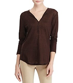 Lauren Ralph Lauren® Whipstitched Linen Tunic