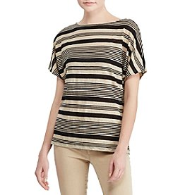 Lauren Ralph Lauren® Striped Linen Top
