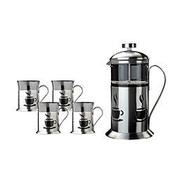 BergHoff® French Press 5-pc. Coffee Set