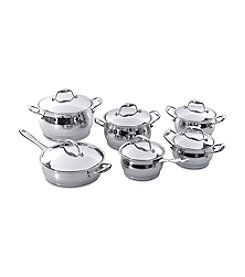 BergHoff® Zeno 12-pc. Stainless Steel Cookware Set