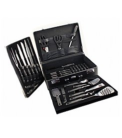 BergHoff® Geminis 32-pc. Knife Set with Case