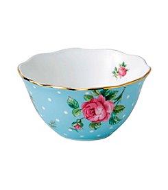 Royal Doulton® Tea Party Polka Dot Blue Bowl