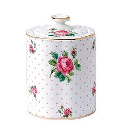 Royal Doulton® Tea Party Pink Roses Tea Caddy