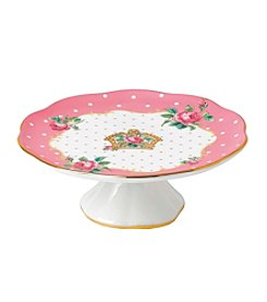Royal Doulton® Small Cake Stand In Cheeky Pink
