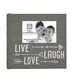 MKT@Home Live Laugh Love Arrows Photo Album