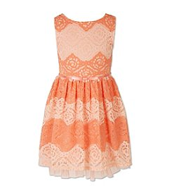 Speechless® Girls' 4-6X Lace Dress