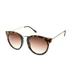 Nine West® Medium Plastic Round Sunglasses