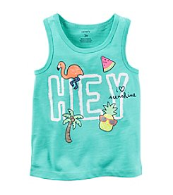 Carter's® Baby Girls' Hey Graphic Tank Top