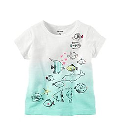 Carter's® Baby Girls' Graphic Beach Tee