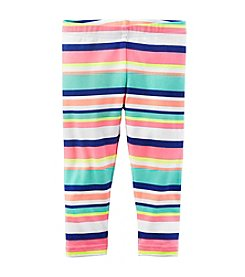 Carter's® Baby Girls' Multi Striped Capri Pants
