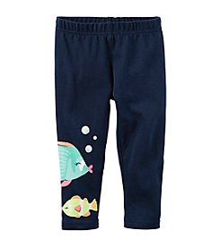 Carter's® Baby Girls' Fish Print Capri Pants